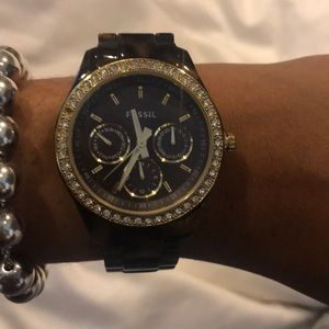 Fossil tortoise bracelet watch
